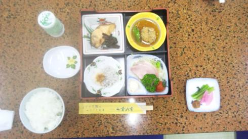 旅館の朝食