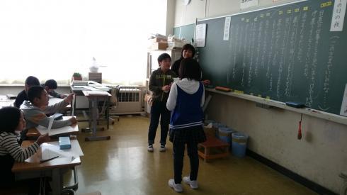 3年4組 授業風景③