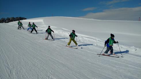 スキー教室7