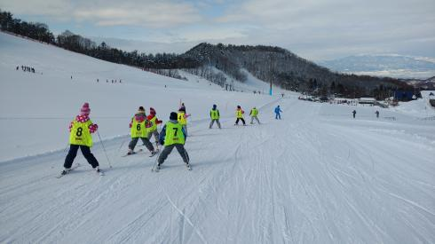 スキー教室8