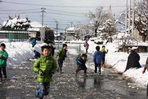 雪遊び02