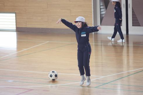 2年 サッカー遊び02
