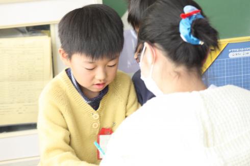 6年生へのインタビュー01
