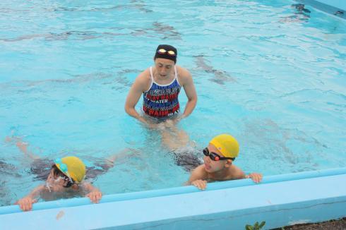水泳指導01