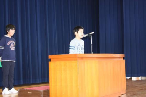 3学期始業式01