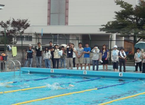 5年 水泳記録会