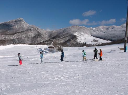 スキー教室 4年生