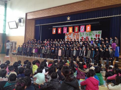 6年生の合唱