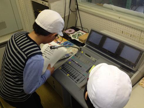 放送委員会の活動