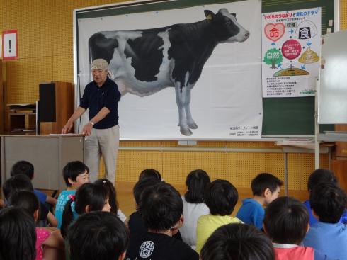 山川牧場の先生と事前学習