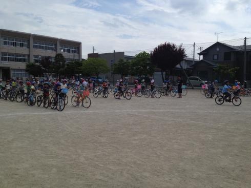 3年 自転車教室