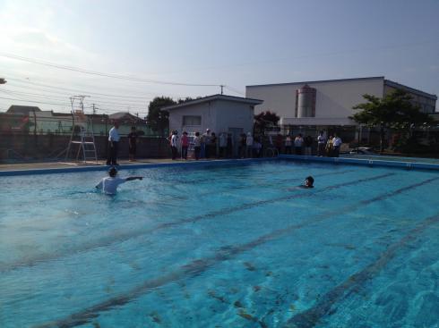 水泳安全指導研修会