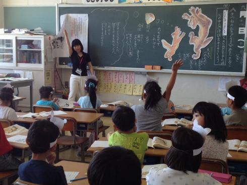 2年生国語の授業