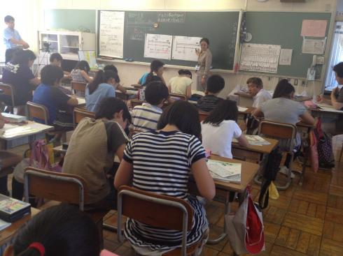 5年生算数の授業