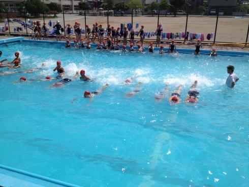 5年生 水泳教室