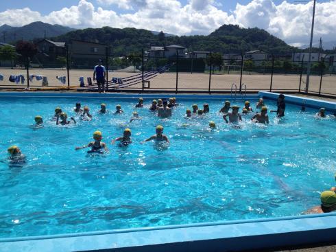 3年水泳教室