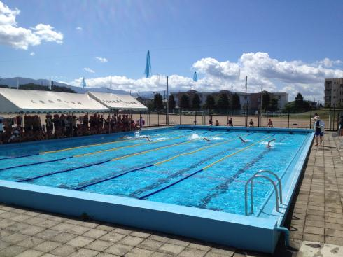 水泳記録会 5年生