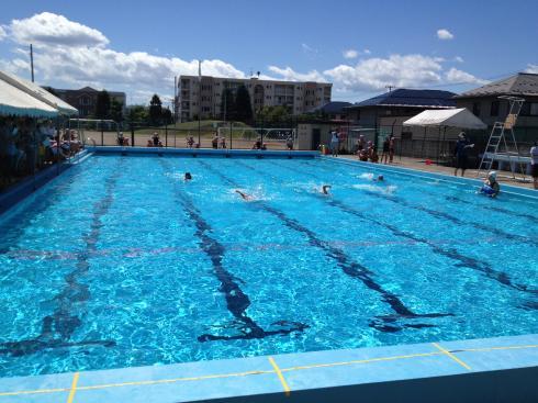 水泳記録会 2年生