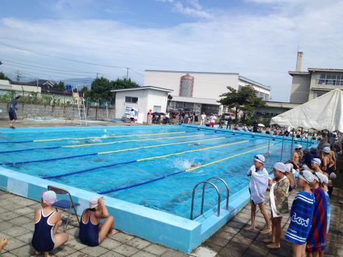 4年生 水泳記録会