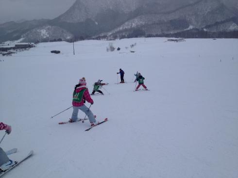 スキー教室 3年生