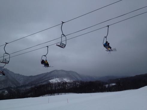 スキー教室 4年生 2回目