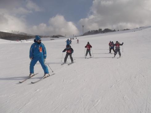 4年スキー教室①