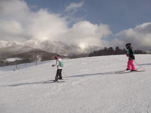 4年スキー教室②
